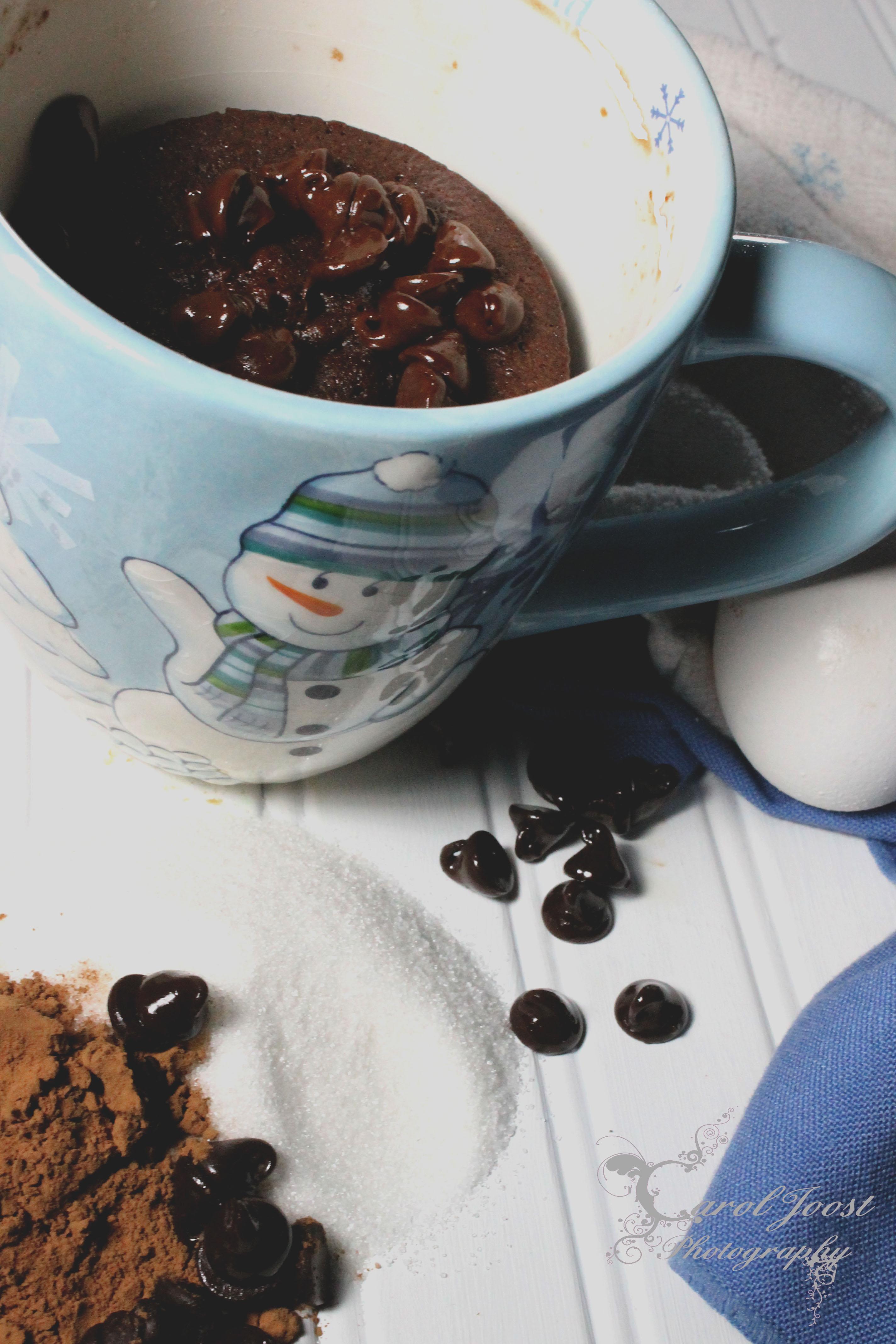 5 MINUTE CHOCOLATE MUG CAKE - BigOven 169326