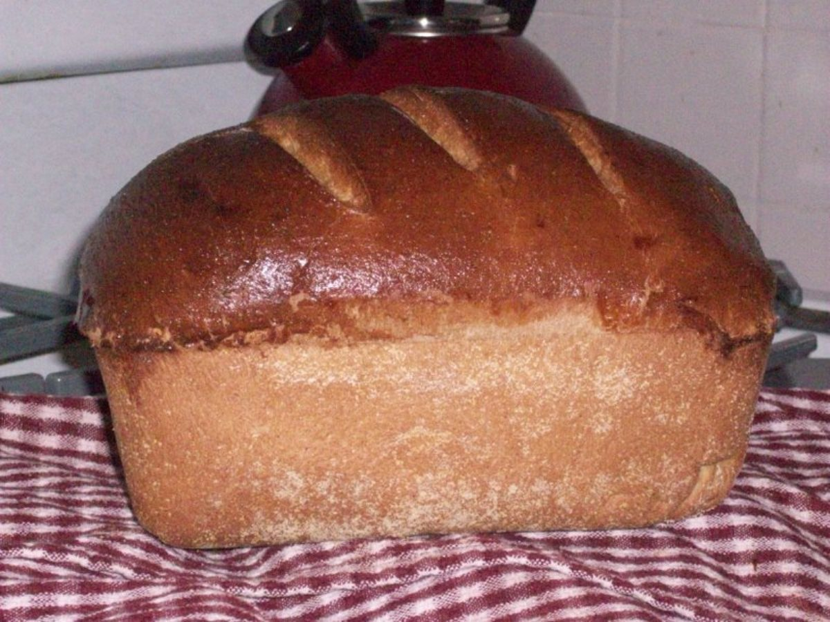 Recipes Course Bread Breads - Other Anadama Oatmeal Bread