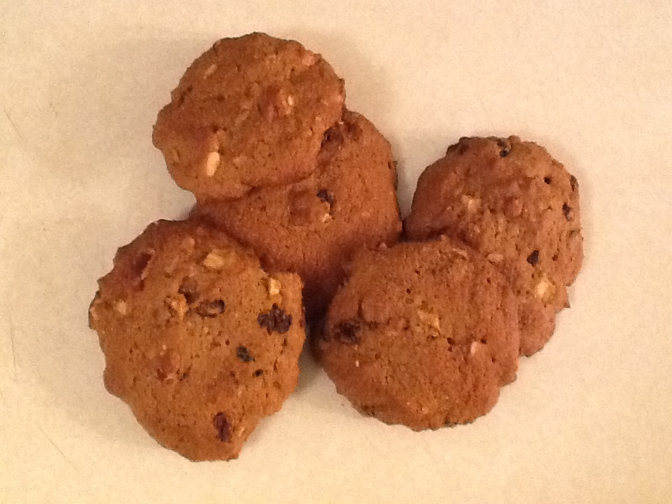 Recipes Course Desserts Cookies and Bars Apple Raisin Drop Cookies