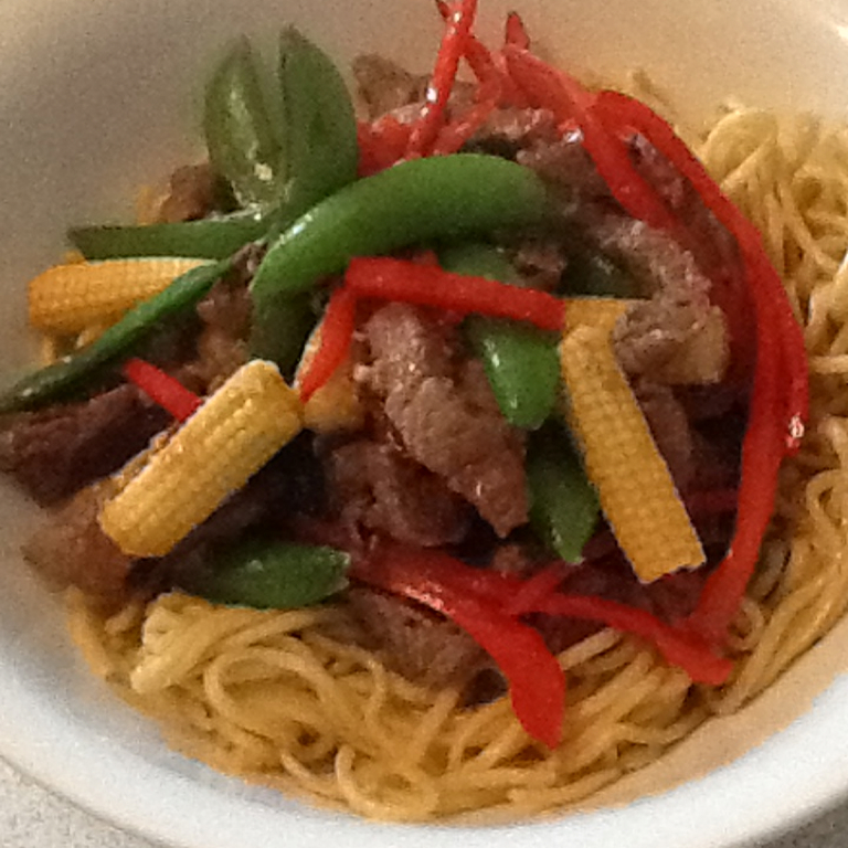 Recipes Course Main Dish Stir-Fries Asian Beef with Snow Peas