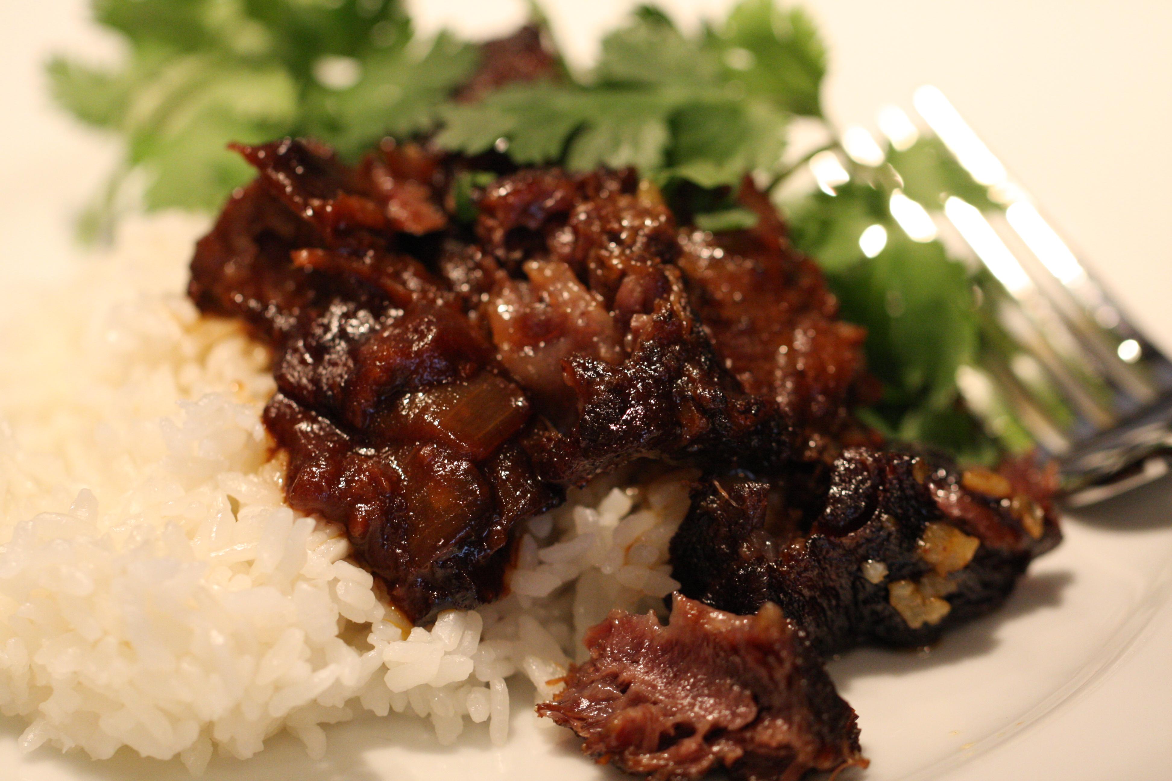 Recipes Course Main Dish Ribs Asian-style Short Ribs