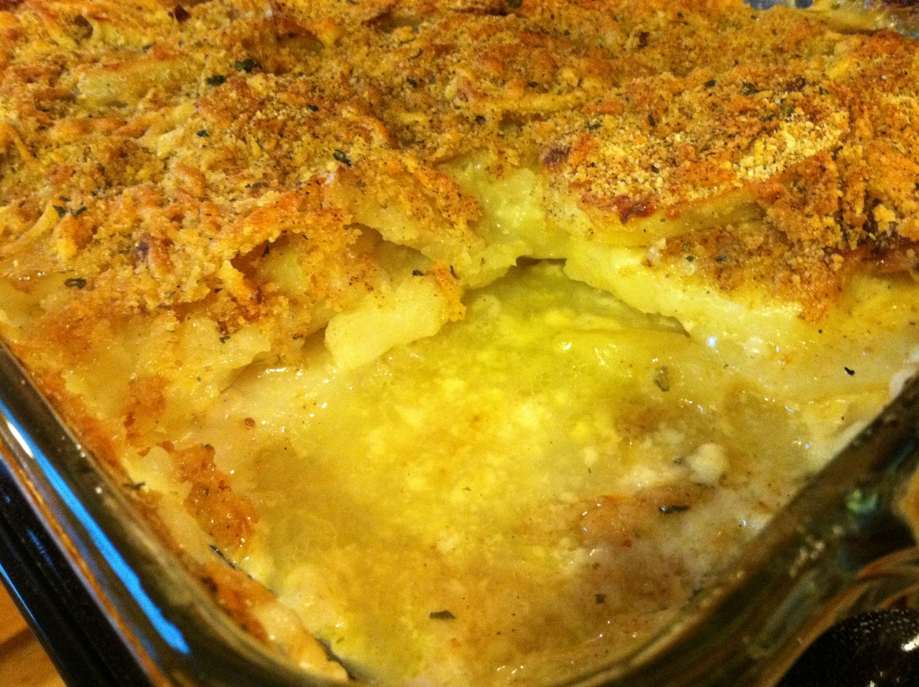 Potato Gratin Recipe — Dishmaps