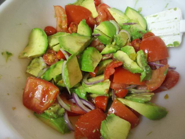 Recipes Course Salad Vegetable Salads Avocado Tomato Salad