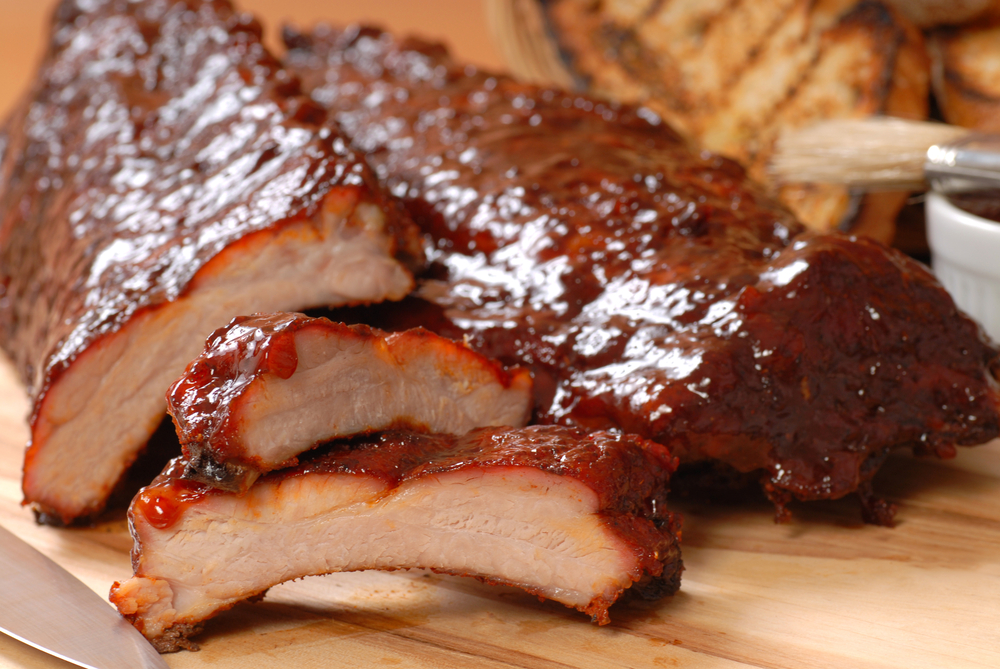 Apple And BBQ Sauce Baby Back Ribs Recipe — Dishmaps