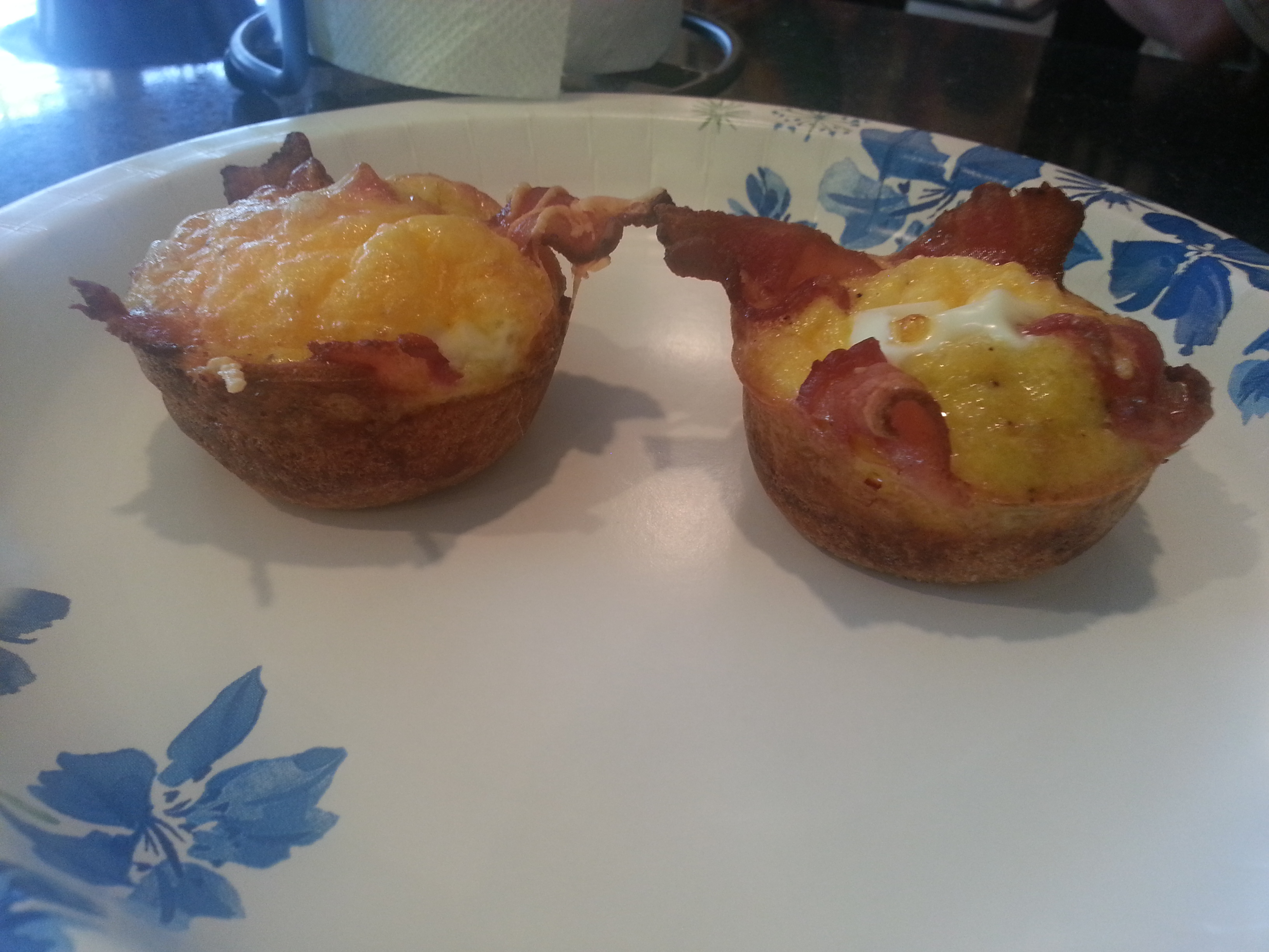 Bacon, Egg & Toast Cups - BigOven 207386