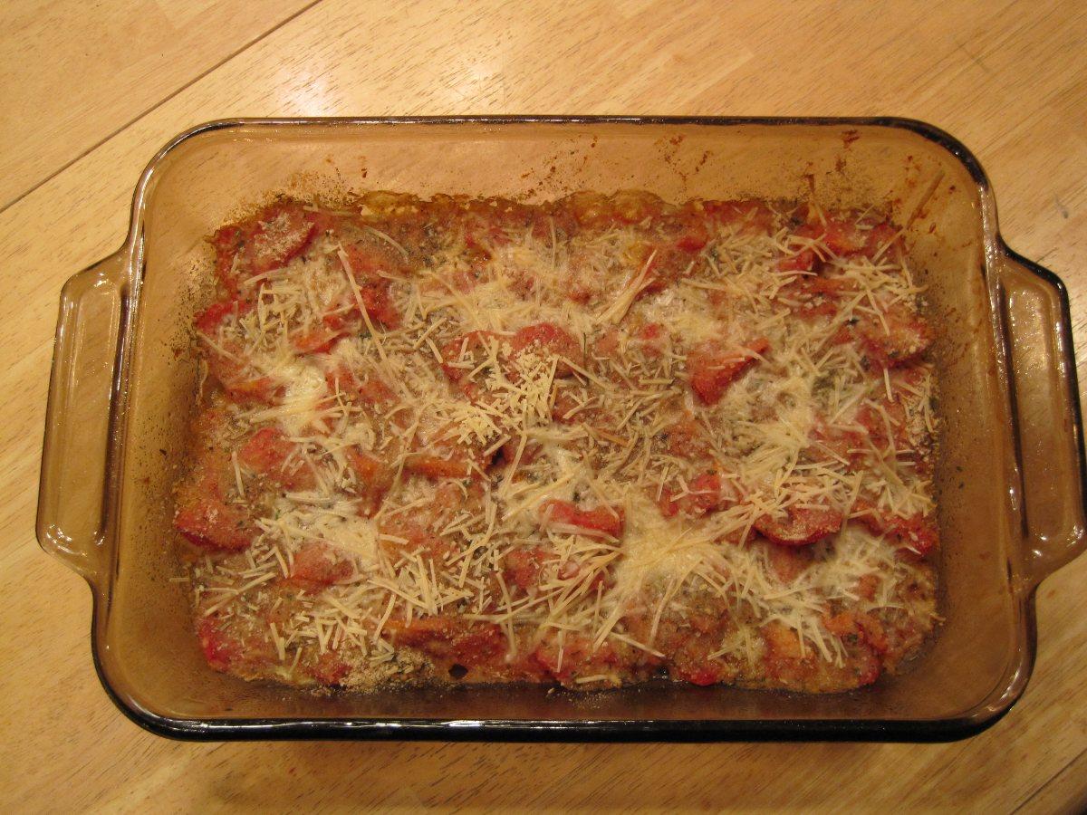 Baked Parmesan Tomatoes - BigOven 178348