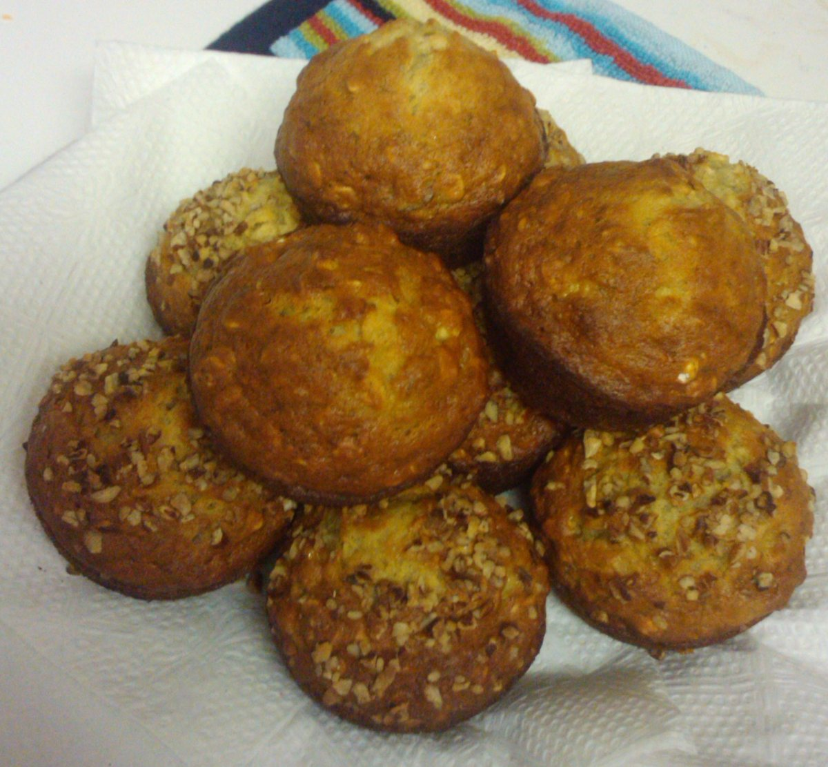 Recipes Course Bread Muffins Banana Oatmeal Muffins