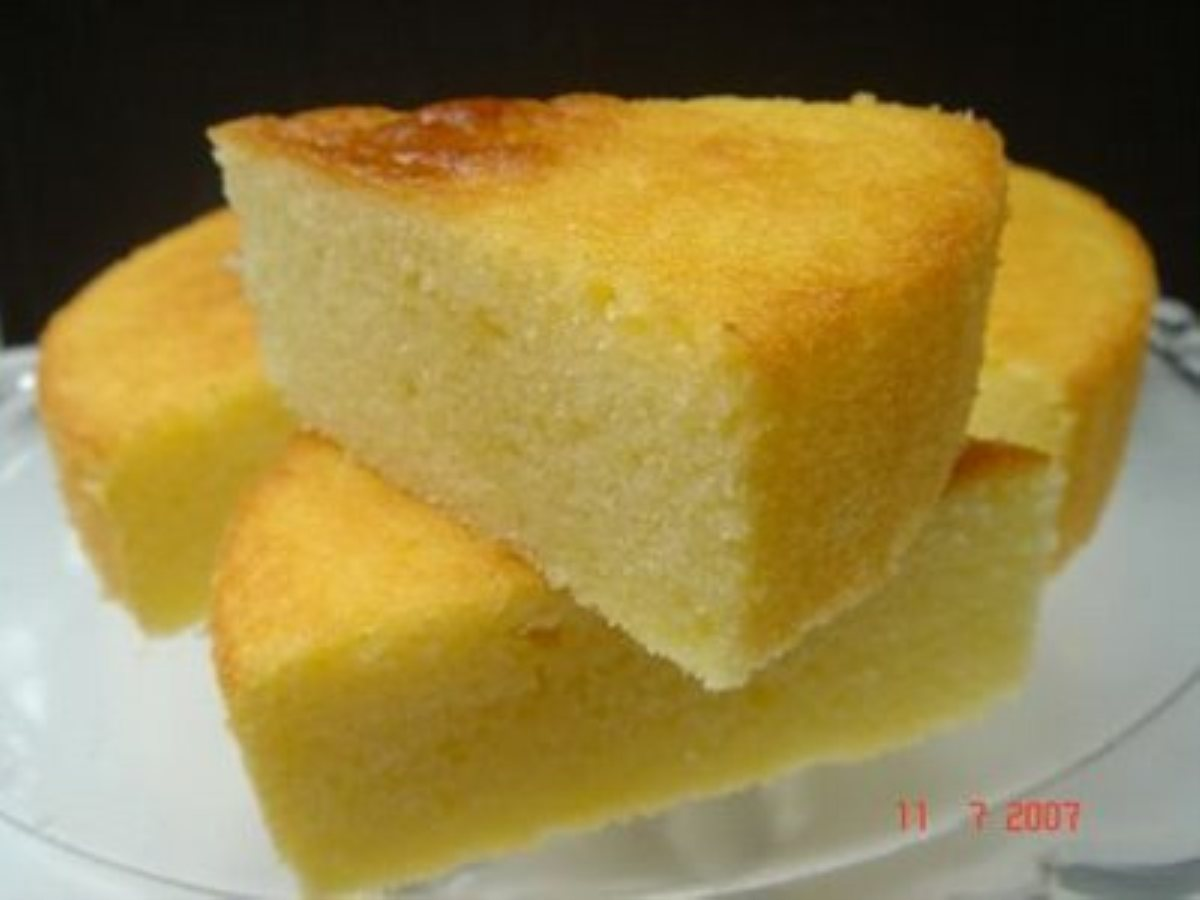 Basic Yellow Cake Without Butter