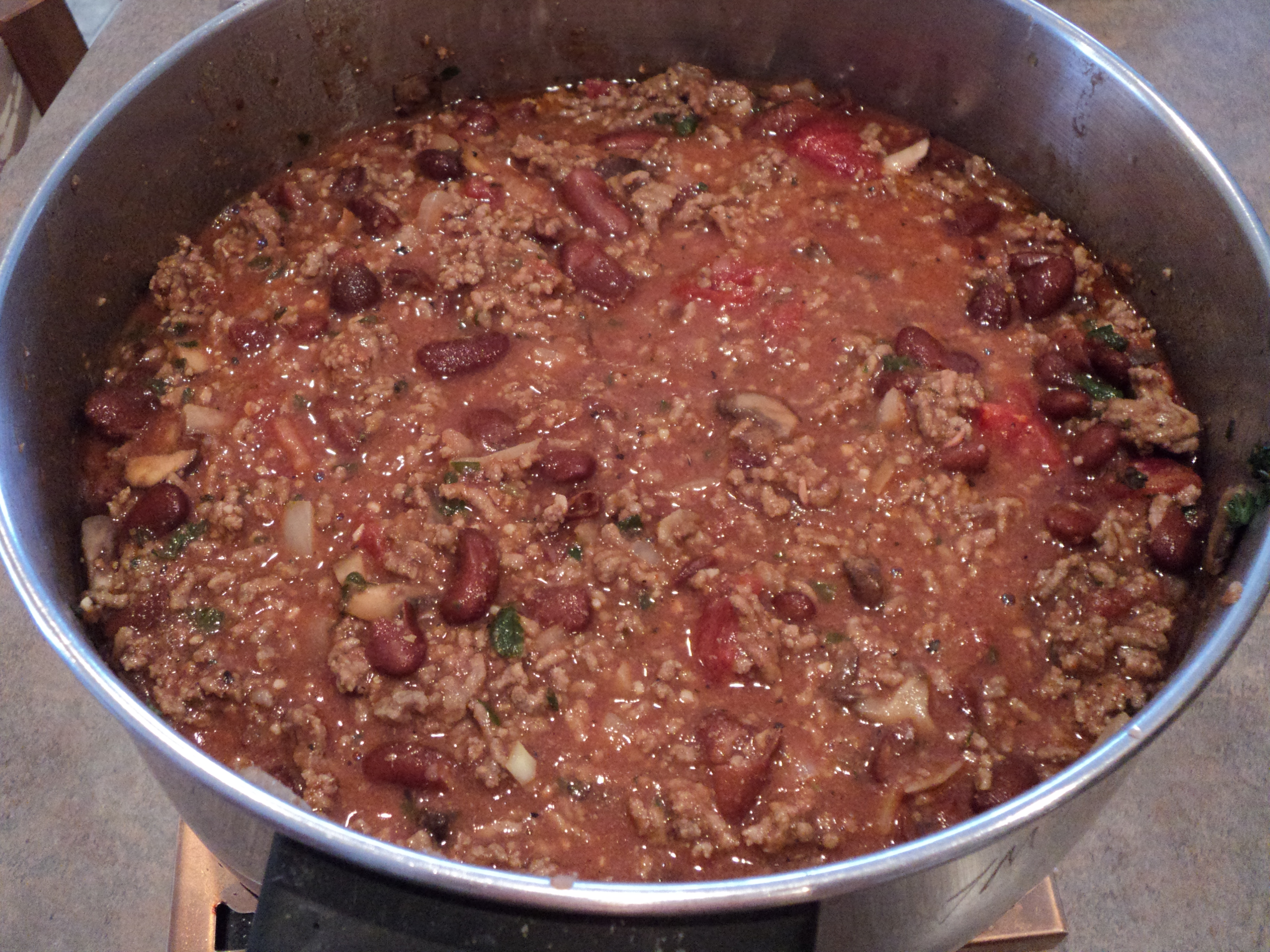 Beef Chili with Beans - BigOven 167046