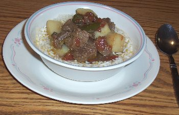 Beef Green Chili Stew