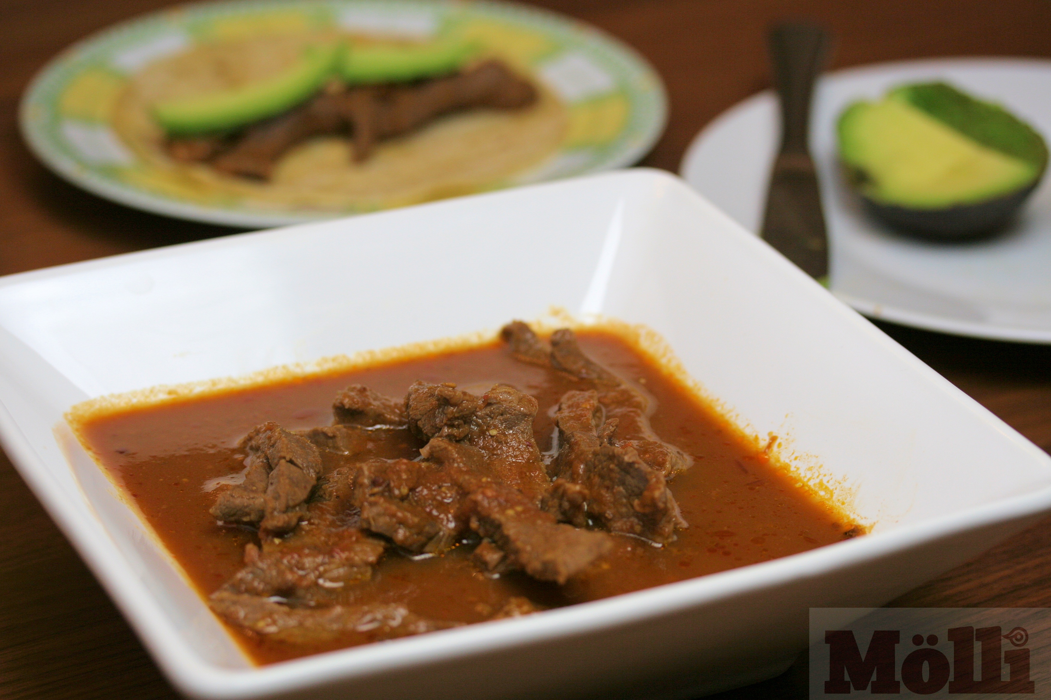 ... Dish - Other Mexican Beef and beer stew (Molli Morelos Cooking Sauce