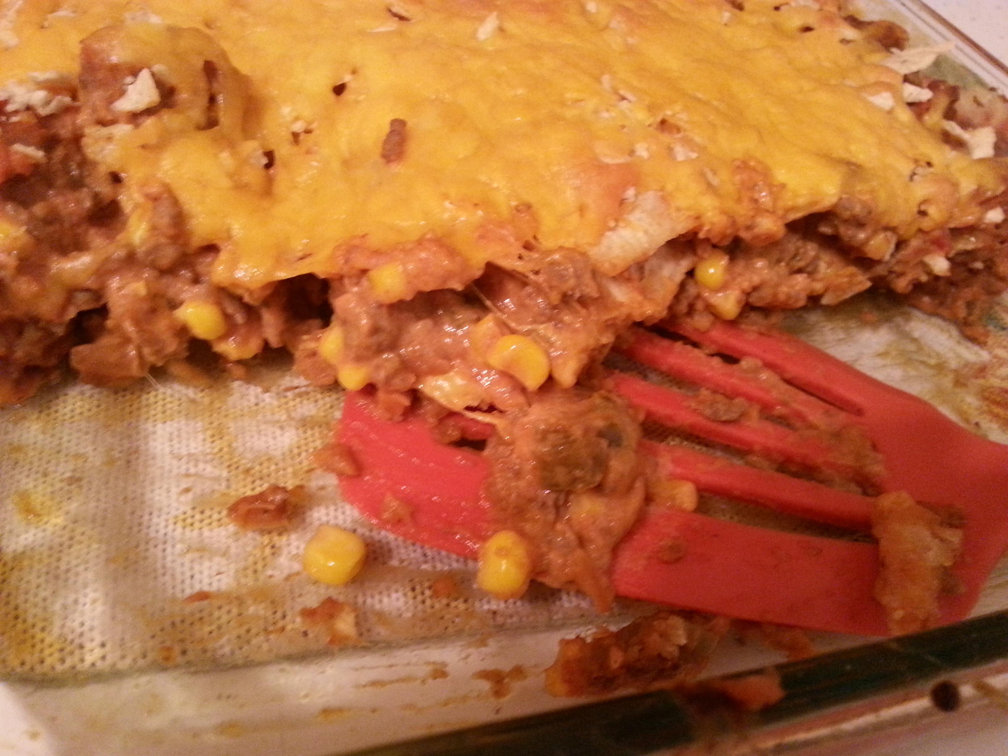 Beef Nacho Casserole - BigOven 214994