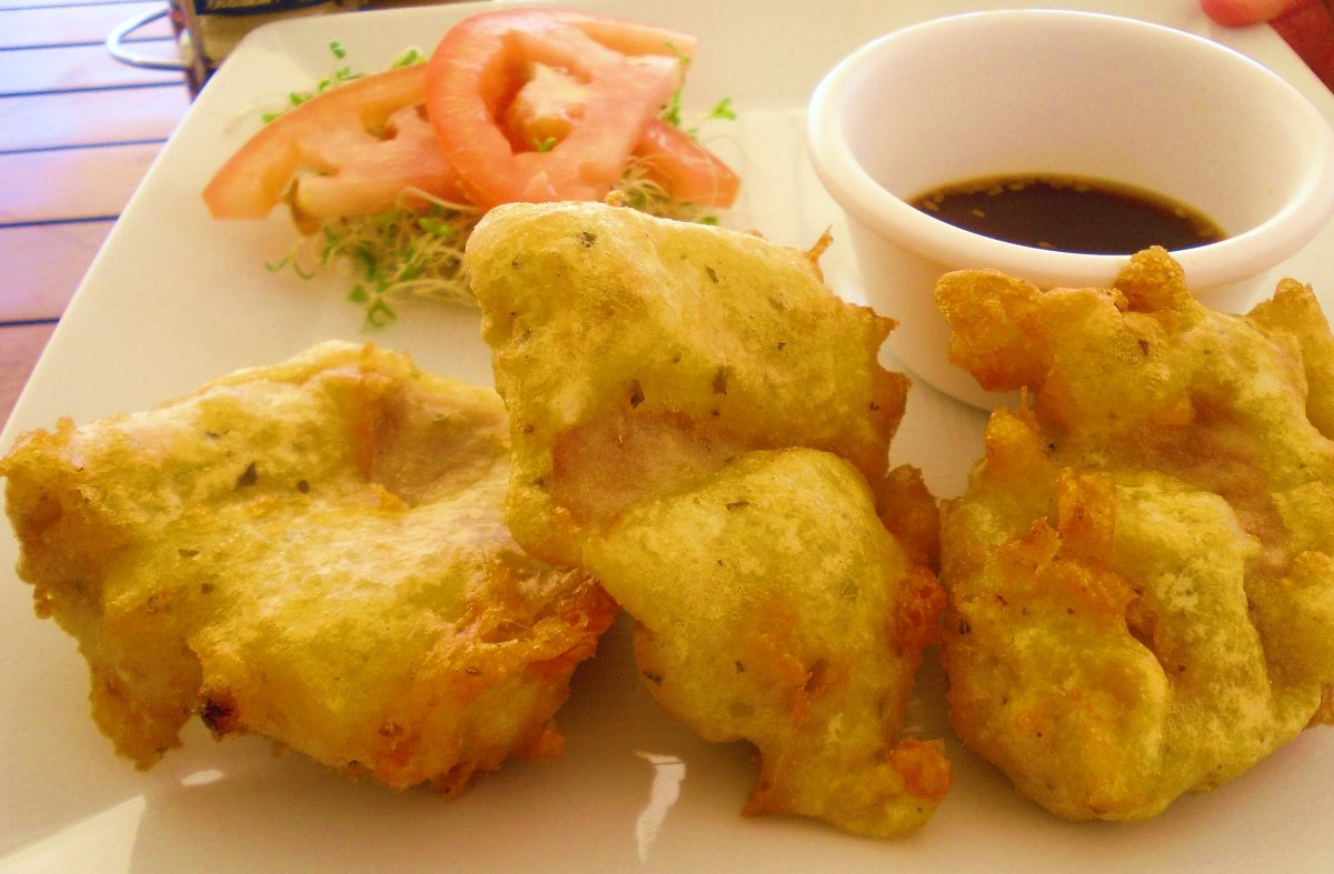 Beer battered fish recipe dishmaps for Batter fried fish