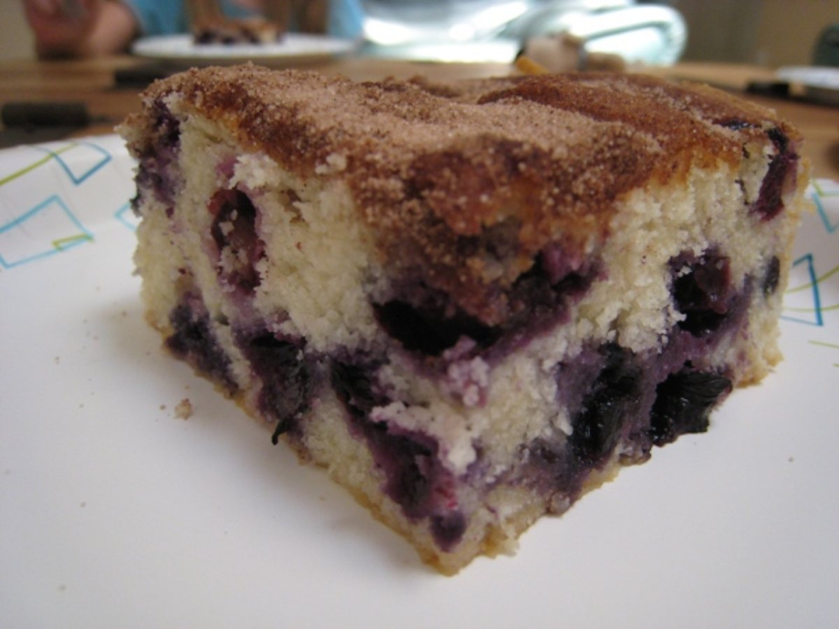 Recipes Course Desserts Cakes Best Ever Blueberry Coffee Cake