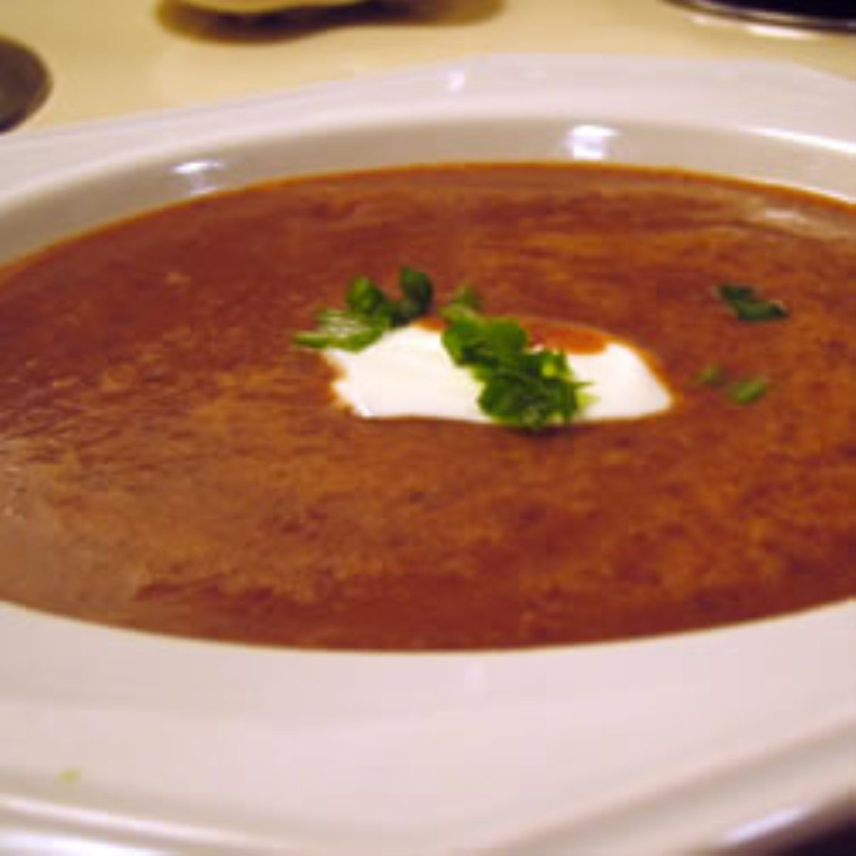 ... Soups, Stews and Chili Beans and Legumes Black Bean and Salsa Soup