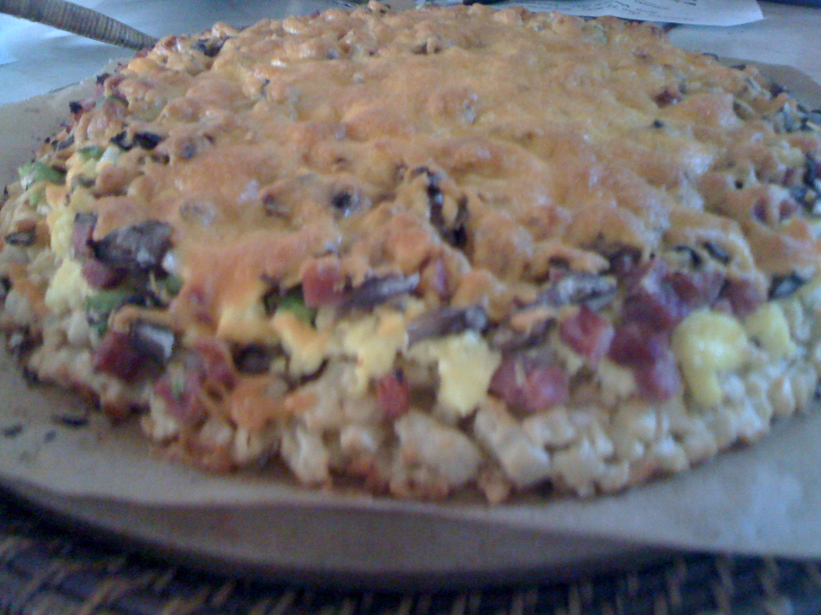 Bountiful Brunch Pizza from the Pampered Chef
