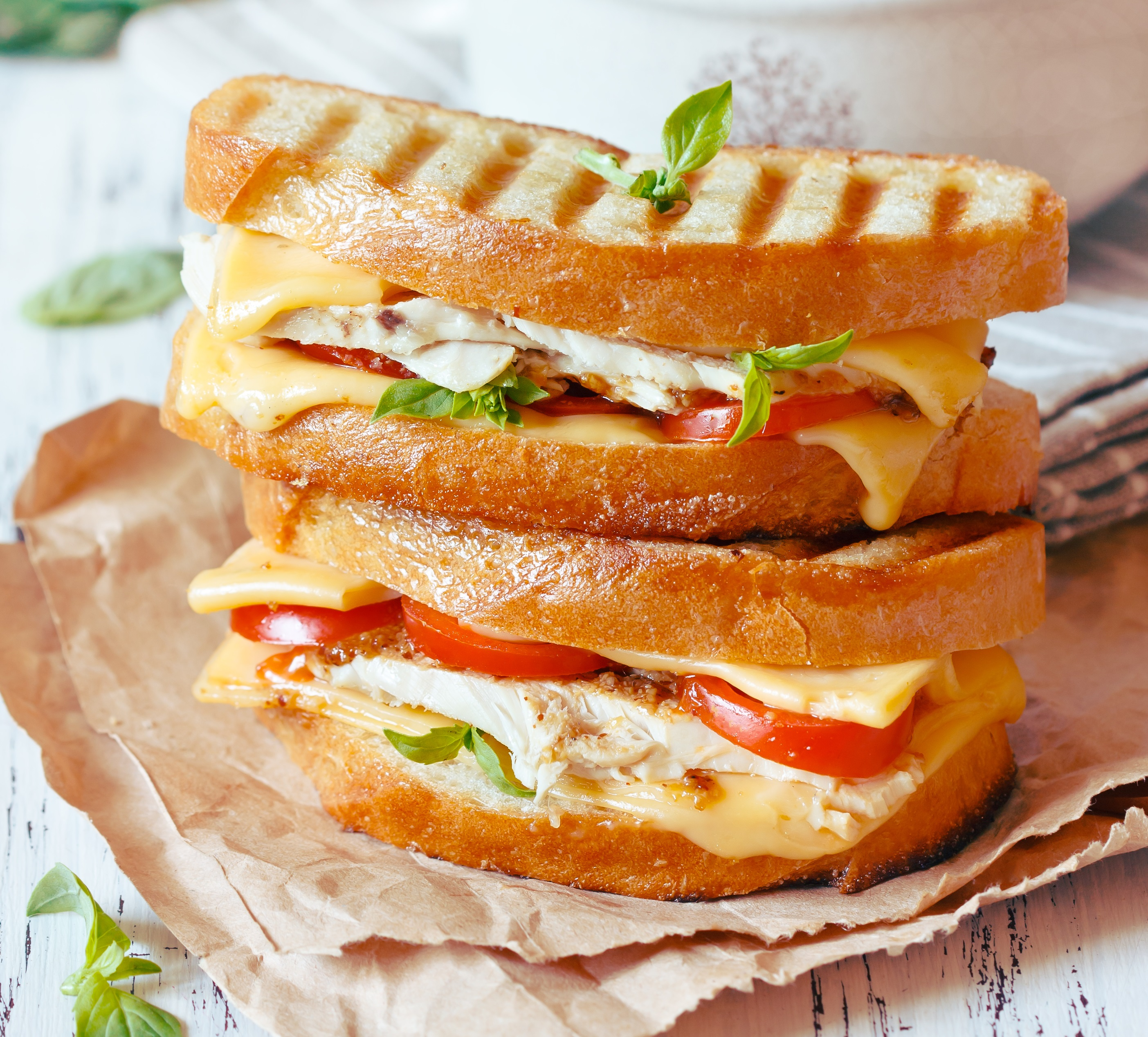 Animal-Style Grilled Cheese Bruschetta Recipe — Dishmaps