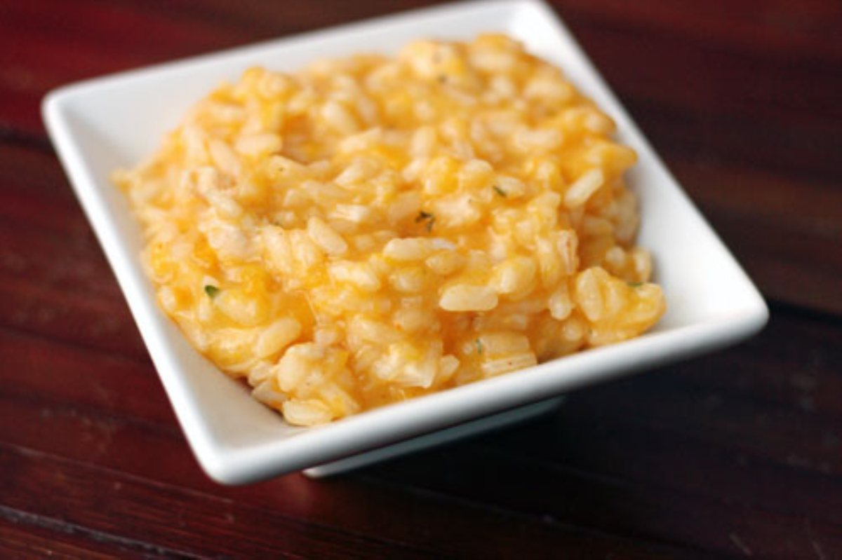 Recipes Course Side Dish Rice Butternut Squash Risotto