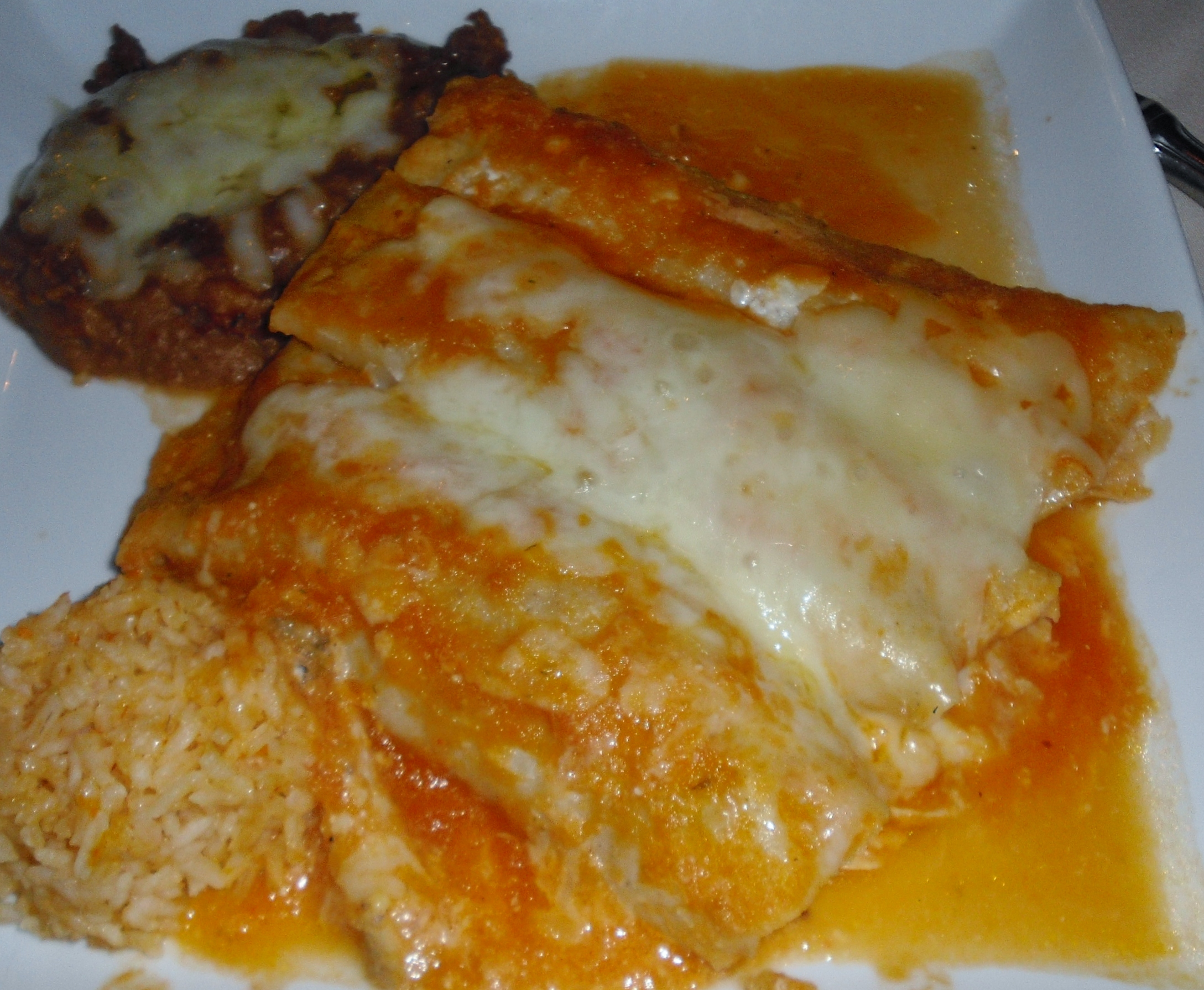 Recipes Course Main Dish Campbell's Easy Chicken and Cheese Enchiladas