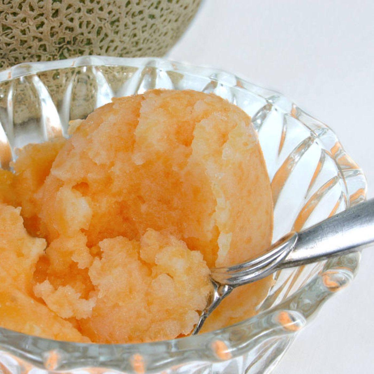 Cantaloupe Sorbet - BigOven 174237