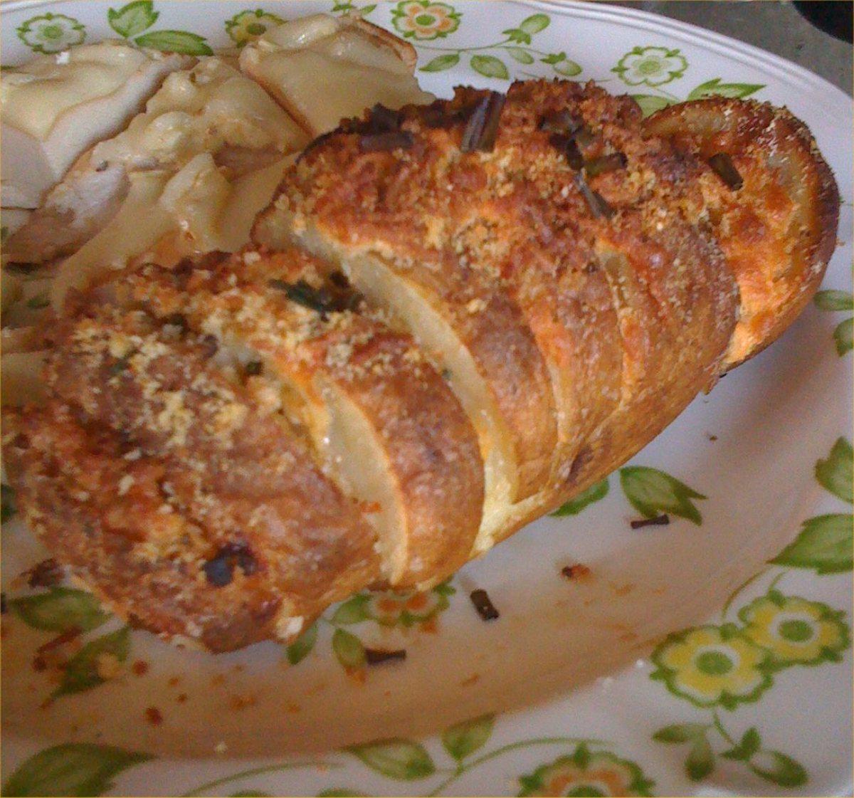 cheese hasselback potatoes bigoven 182330