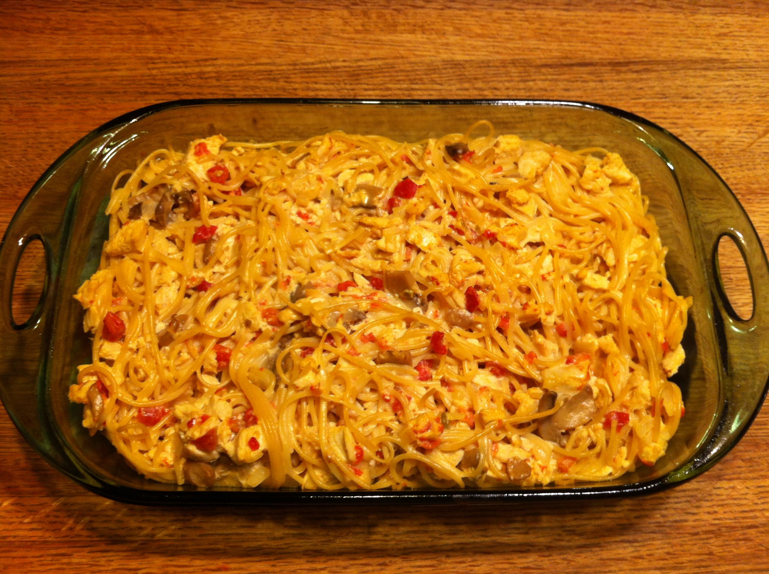 Cheesy Chicken Spaghetti - BigOven 242833