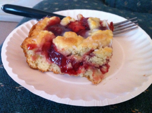 Cherry Pie Coffee Cake Recipe