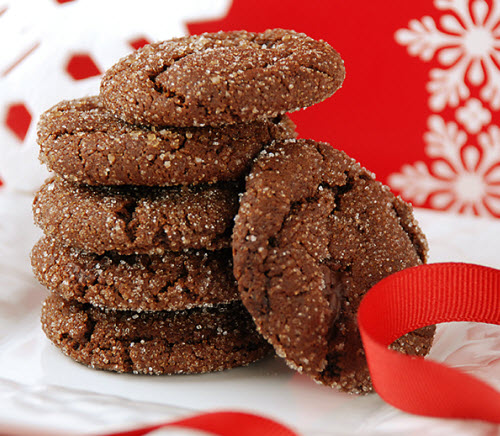 ... Course Desserts Cookies and Bars Chewy Chcolate Gingerbread Cookies