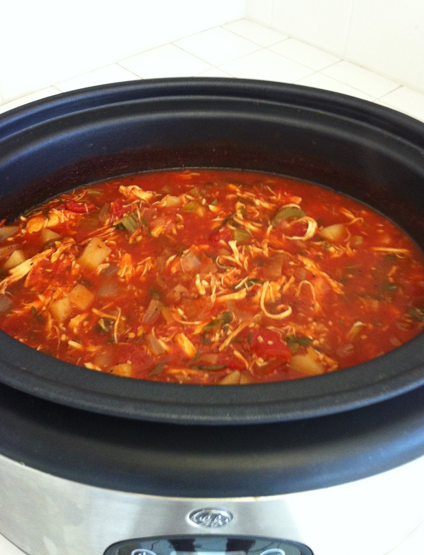 ... Stews and Chili Slow Cooker Soups Chicken Cacciatore Soup (Crock pot