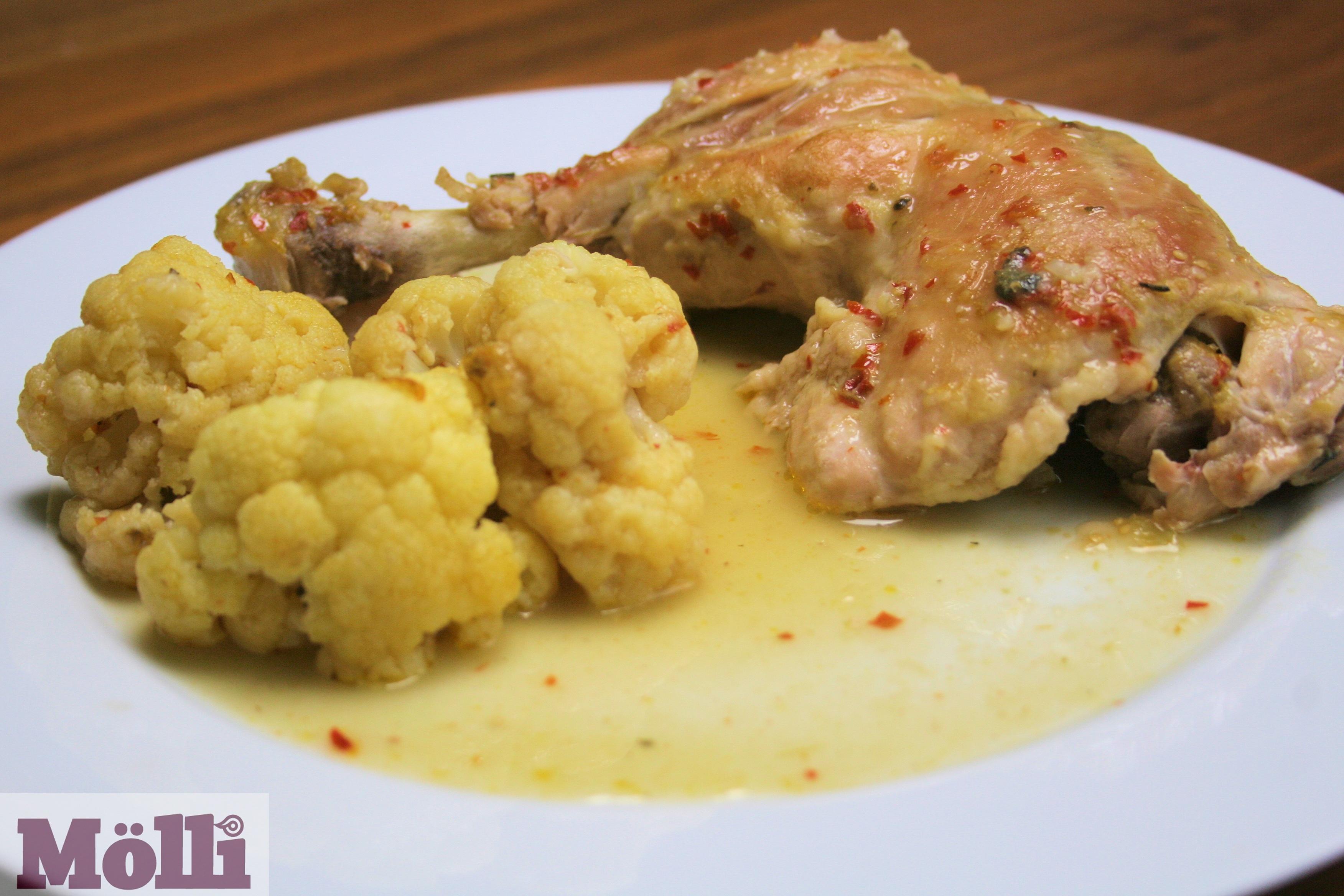 ... Dish Poultry - Chicken Chicken chili verde (Guisado verde con pollo