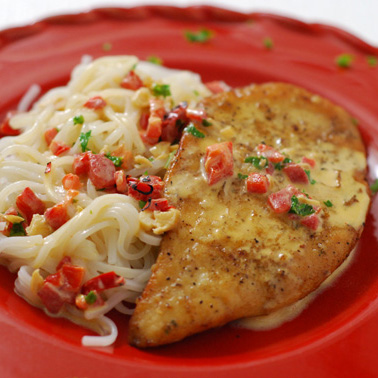 ... Main Dish Poultry - Chicken Chicken Cutlets with Sherry Cream Sauce