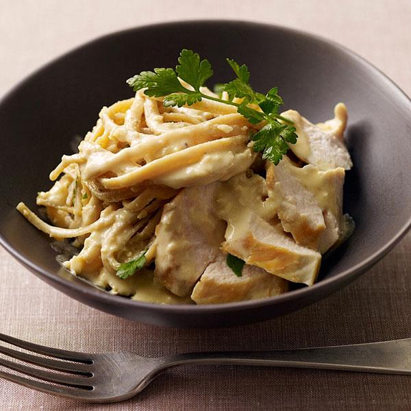 Recipes Course Main Dish Pasta Chicken Fettuccini Alfredo