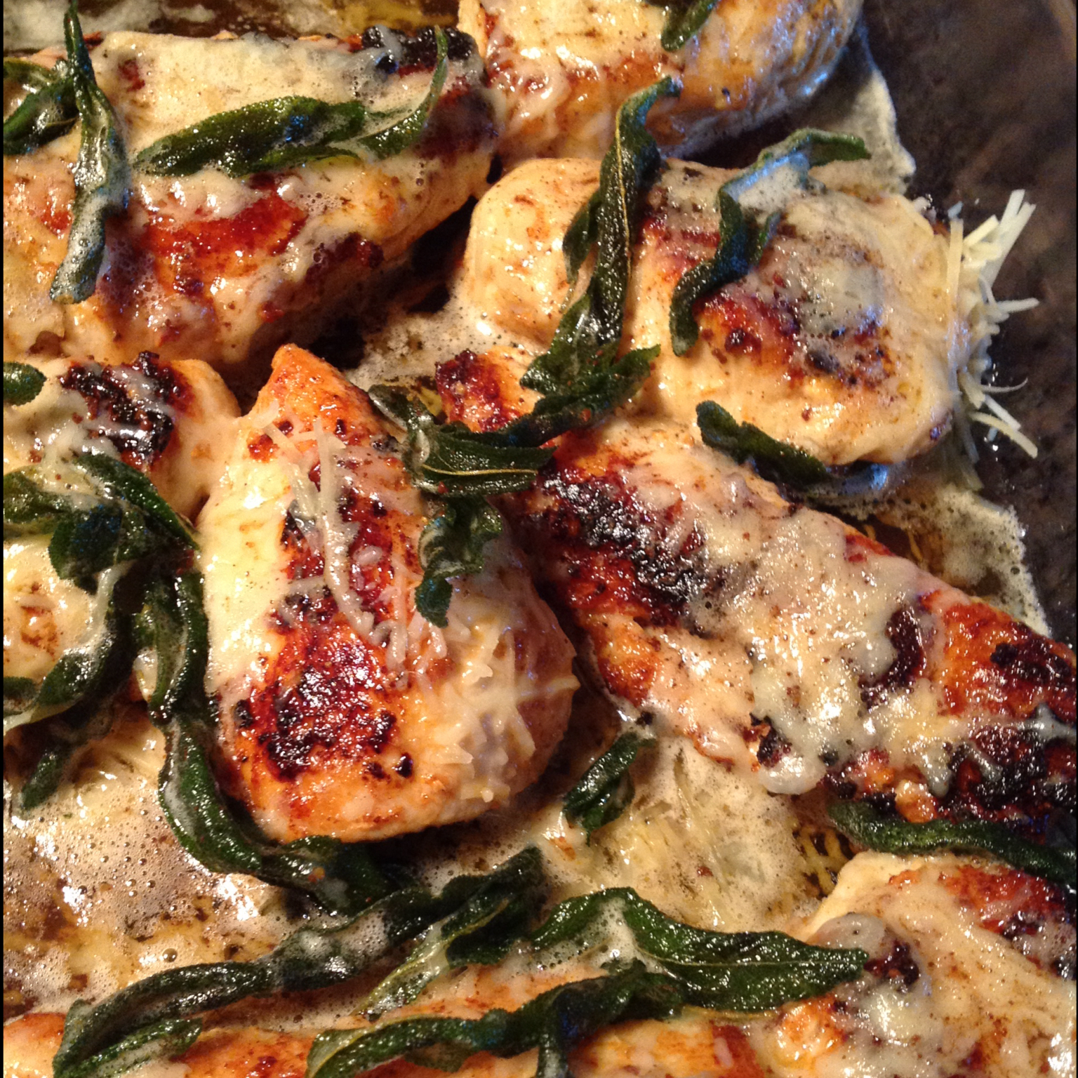 ... Main Dish Poultry - Chicken Chicken in Browned Butter Sage Sauce