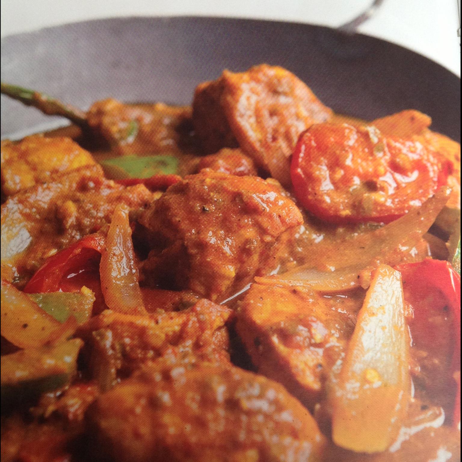 Chicken jalfrezi - BigOven 637805