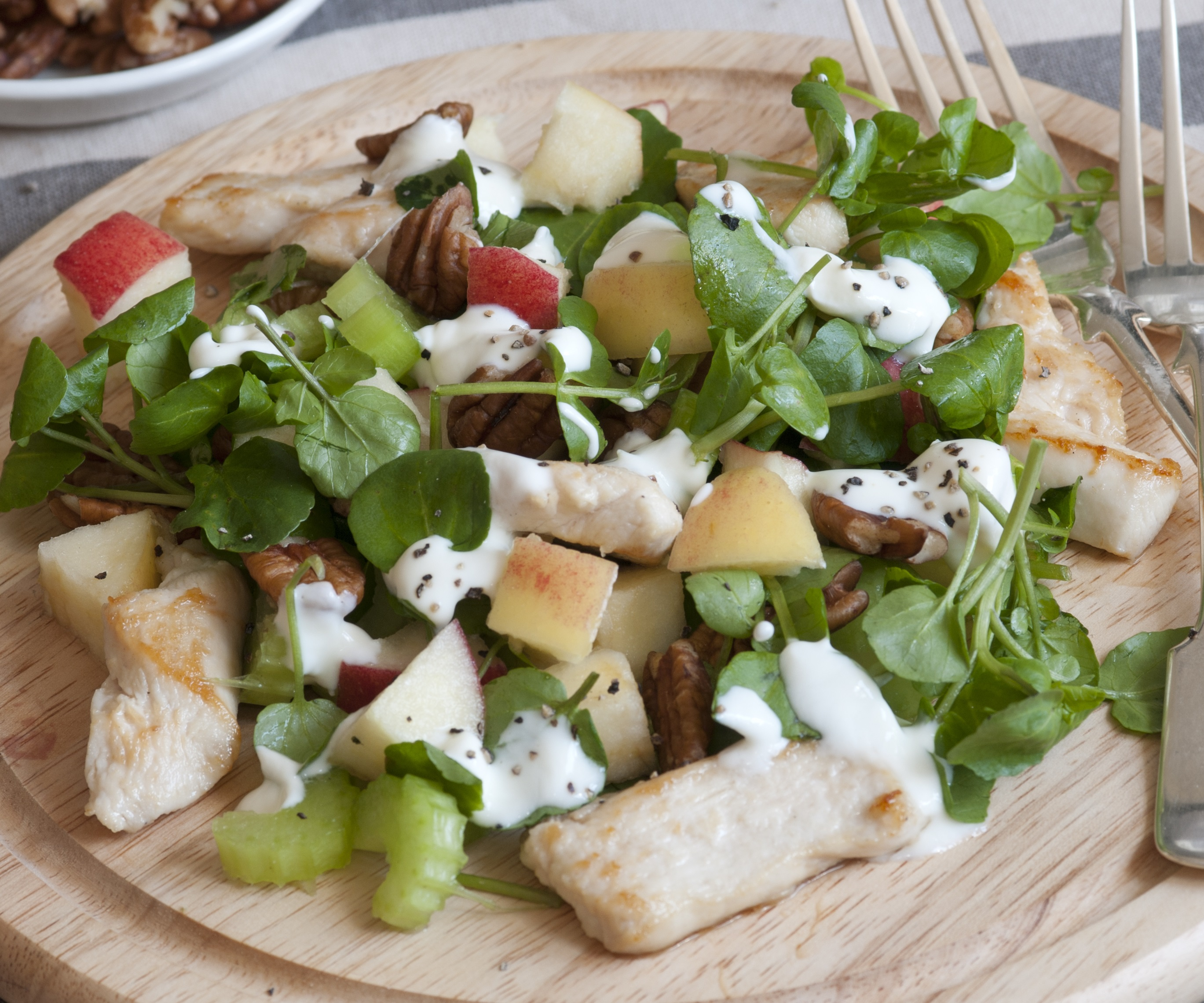 Recipes Course Salad Meat and Seafood Chicken Waldorf Salad