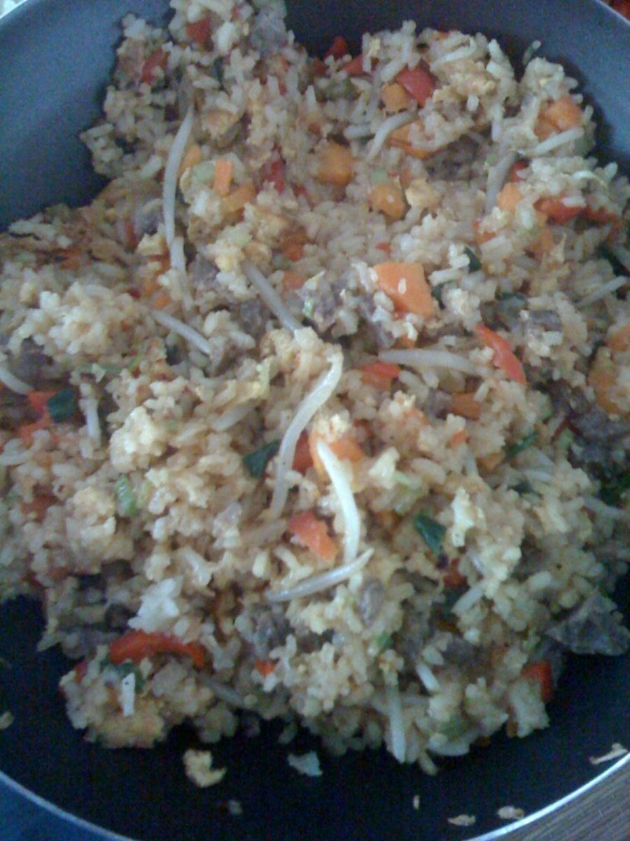 Chinese Fried Rice with Beef - BigOven 171743