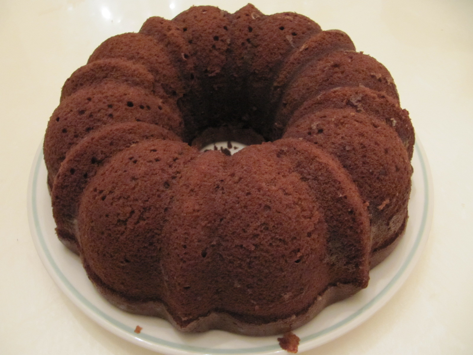 Recipes Course Desserts Cakes Chocolate Bundt Cake