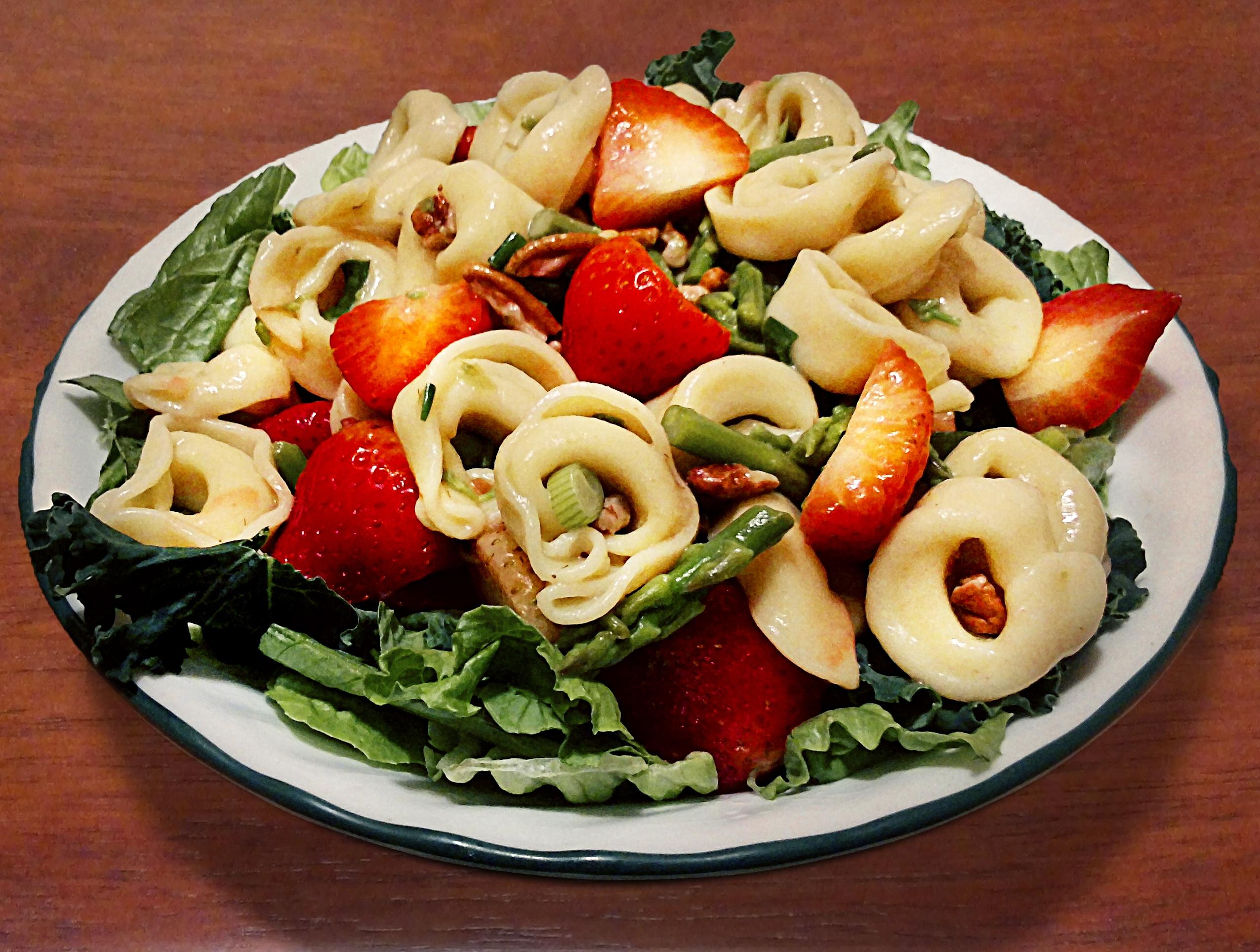 Recipes Course Salad Pasta Salads Quick & Easy Tortellini Salad