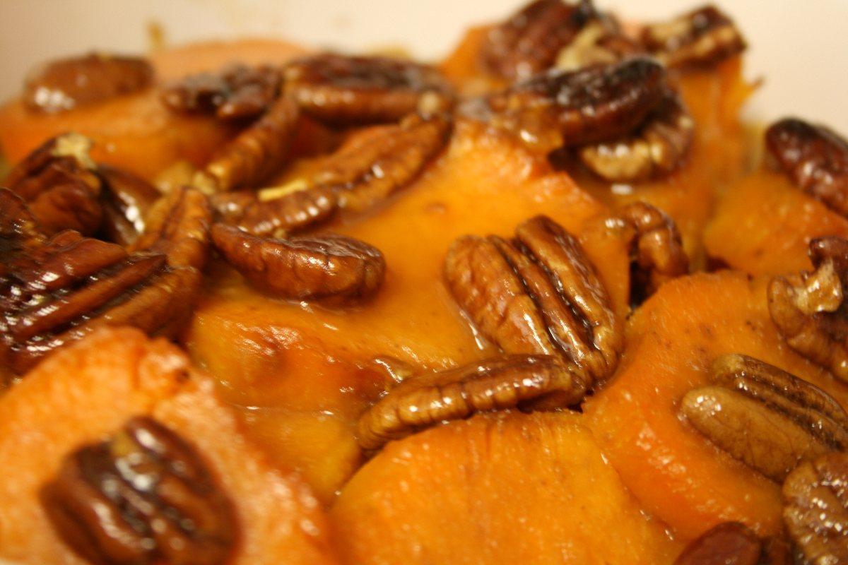 Recipes Course Side Dish Vegetables Citrus Sweet Potato Rounds
