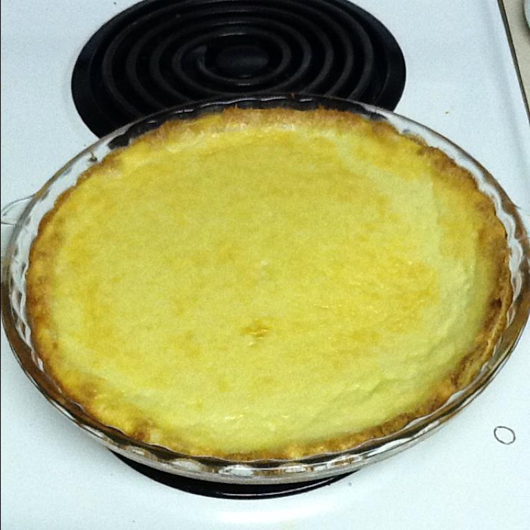 Recipes Course Desserts Pies Coconut Custard Pie