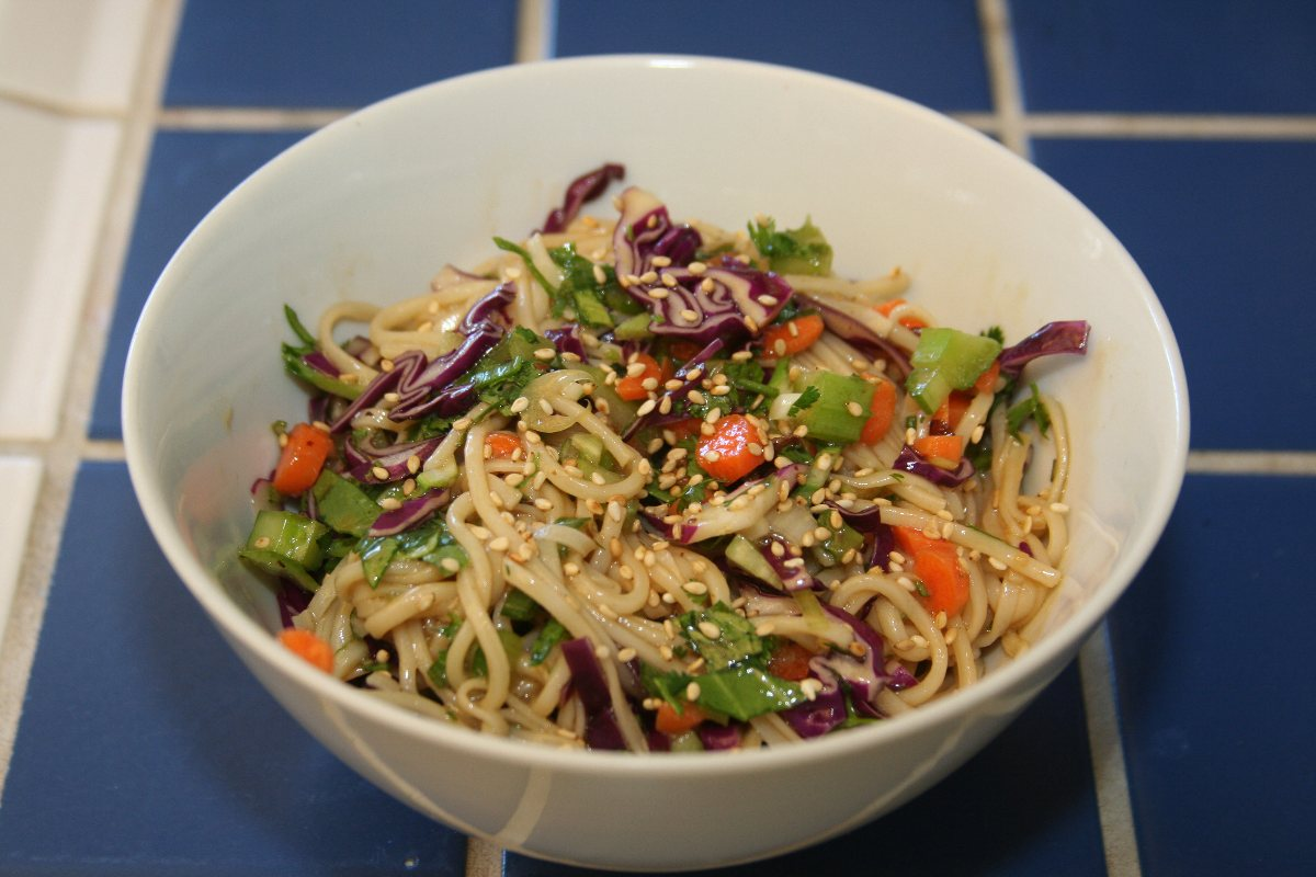 Recipes Course Salad Pasta Salads Cold Asian Noodle Salad