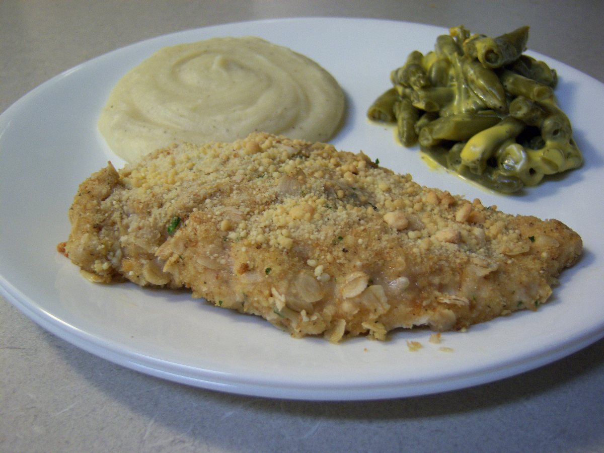 ... Main Dish Poultry - Chicken Crispy Ranch Oven Fried Chicken Breasts