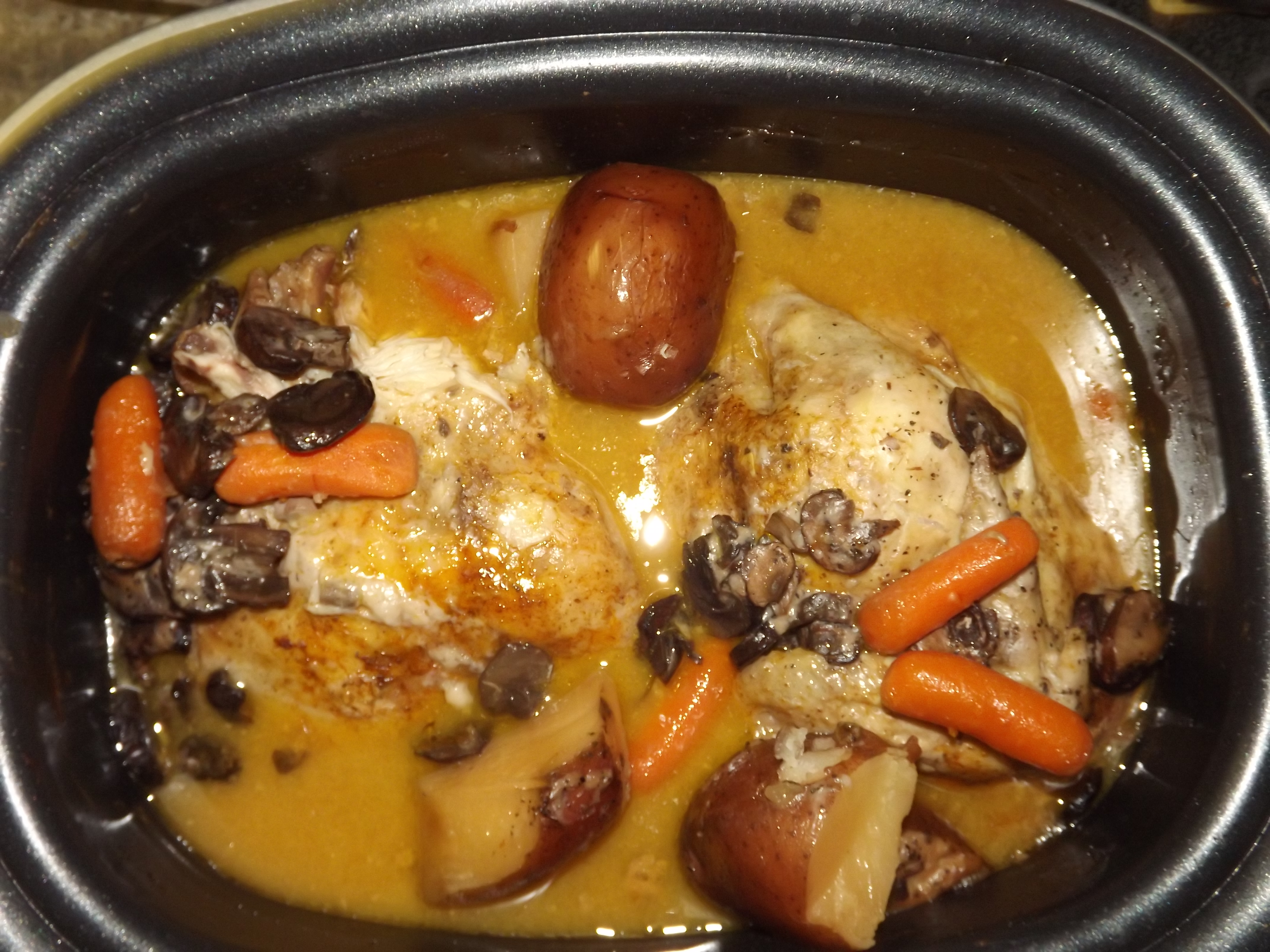 ... Course Main Dish Poultry - Chicken Crock Pot Chicken & Vegetables