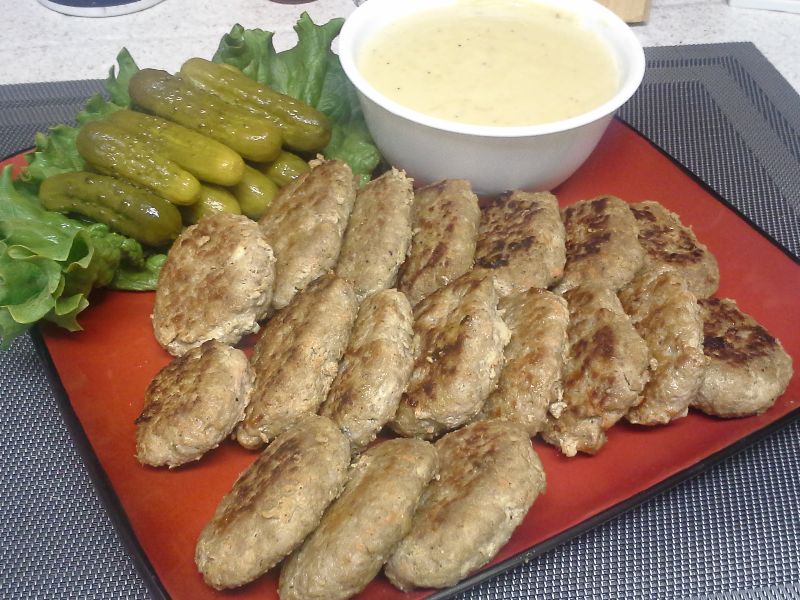 ... Course Main Dish Meat - Other Danish Frikadeller - (Danish Meatballs