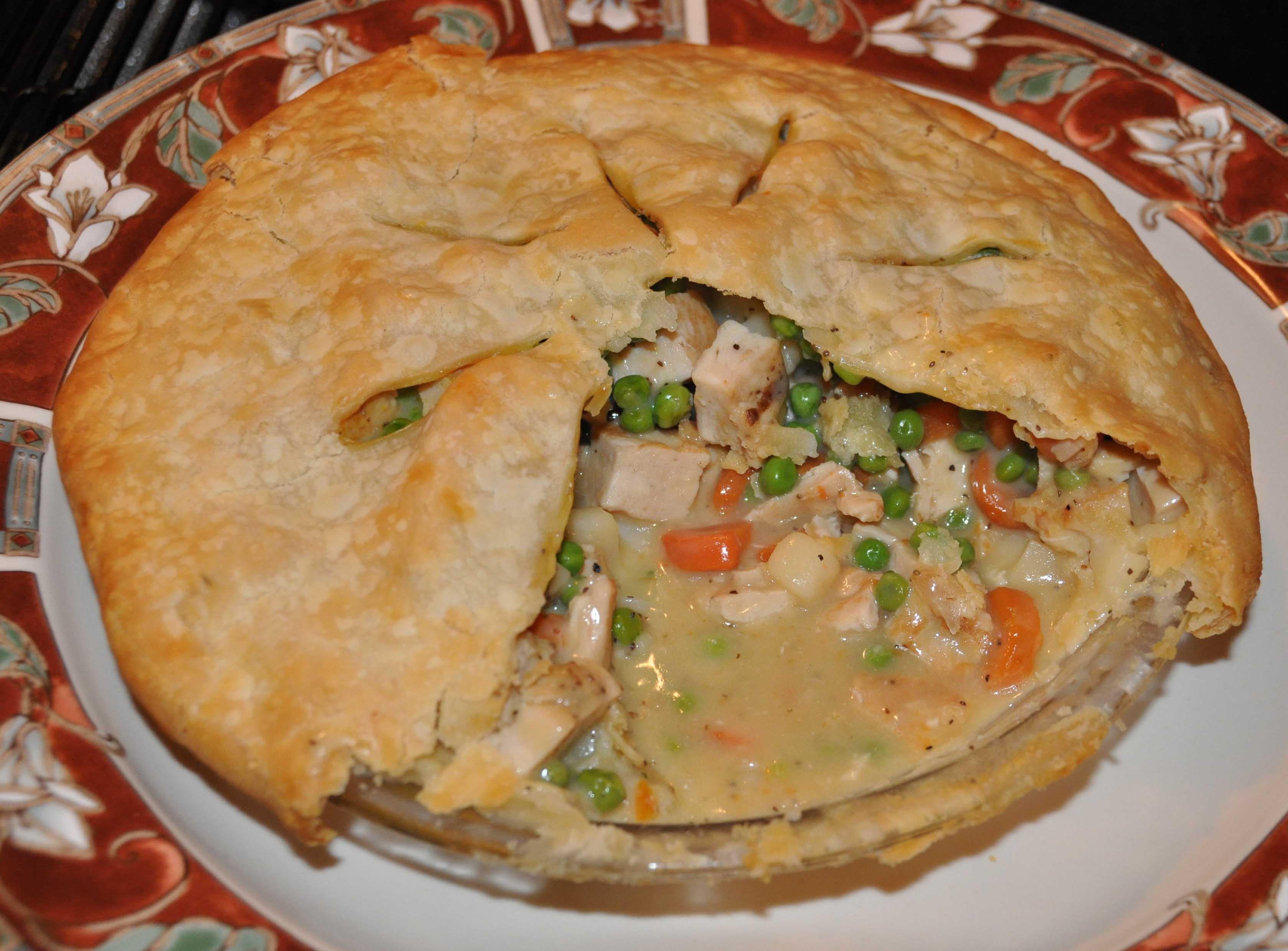 Easy Baked Chicken Pot Pie - BigOven 192655