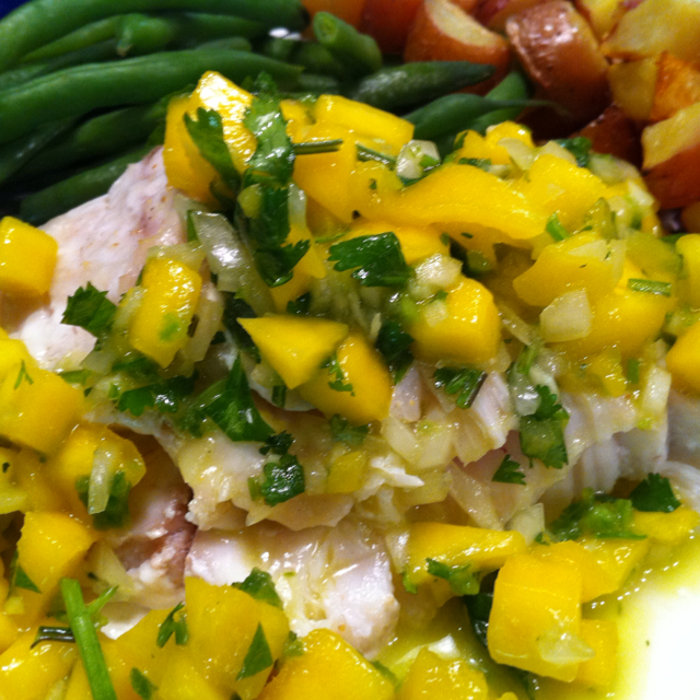 fish with mango salsa bigoven 163875