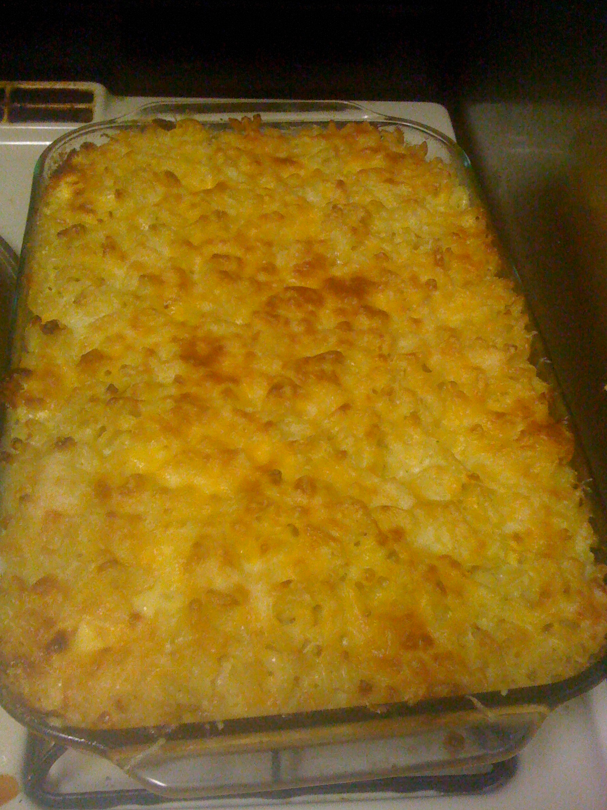 Recipes Course Main Dish Pasta Four Cheese Baked Macaroni And Cheese