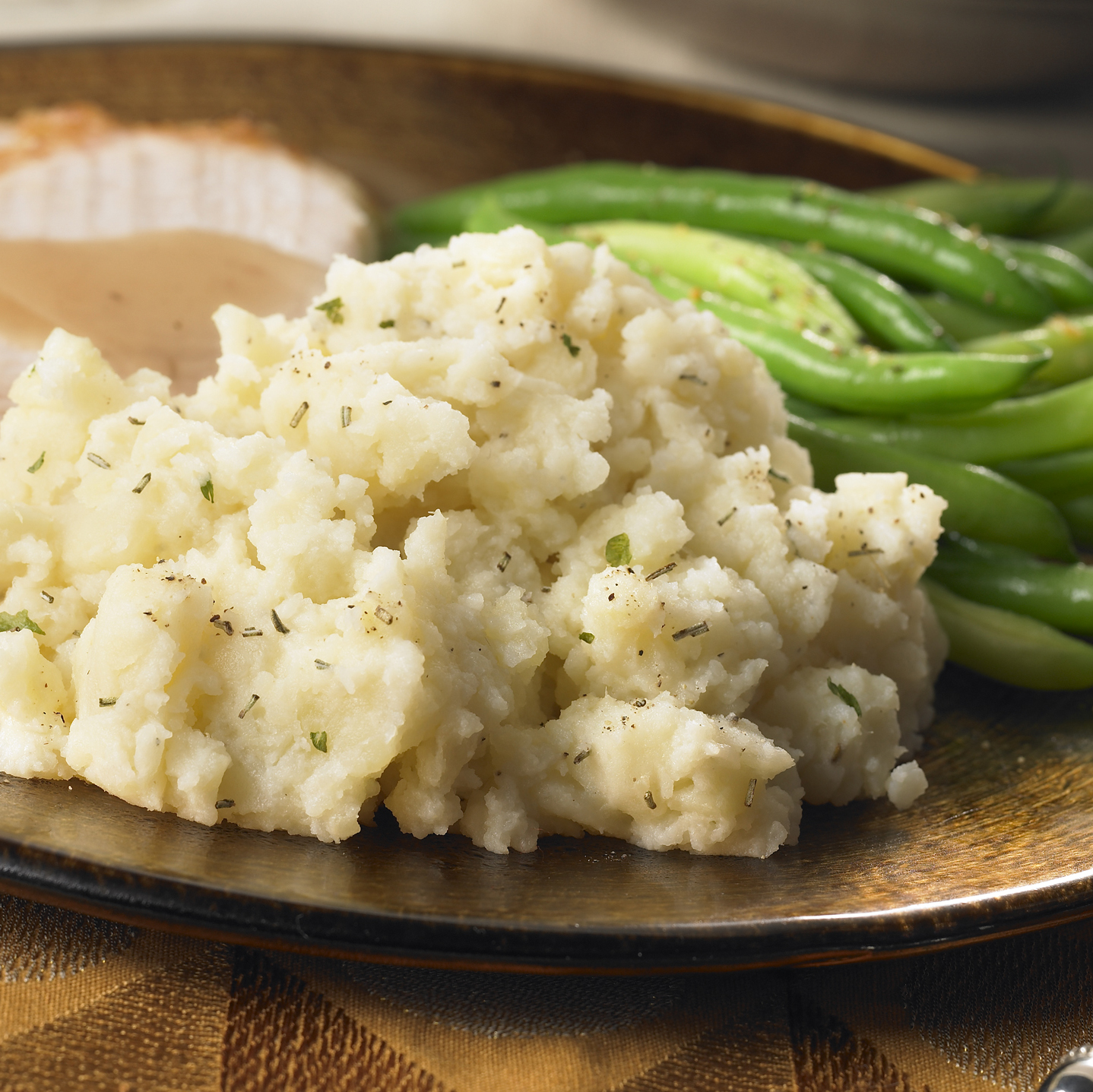 Recipes Course Side Dish Potatoes Garlic Rosemary Mashed Potatoes