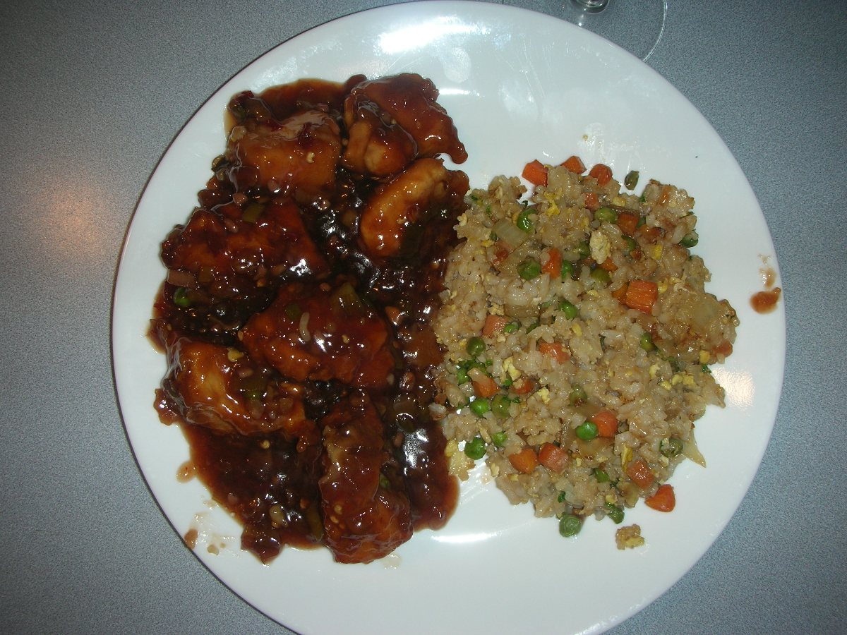 general tso s chicken in wonderful sauce photo by silentmercy