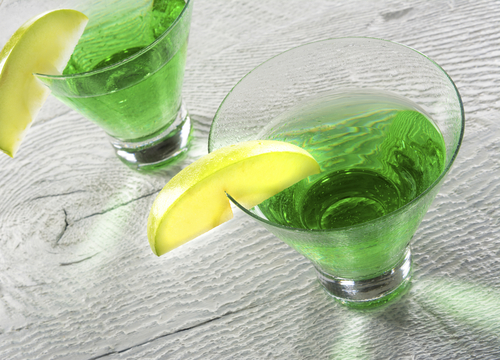 Recipes Course Drinks Liqueurs Green Apple Martini - Appletini